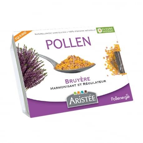 Pollen frais bruyère