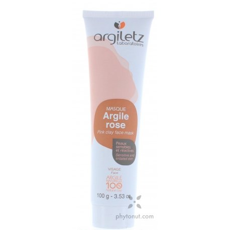 Tube argile rose 100g