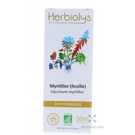 Myrtille feuilles EPF 50 ml