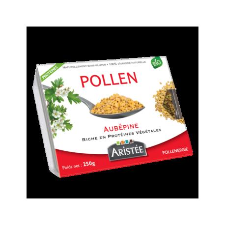 Pollen frais d'aubépine