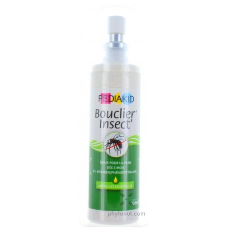 Spray bouclier insect