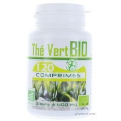 Thé vert bio - comprimés