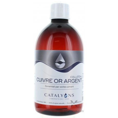 Cuivre Or Argent 500 ml