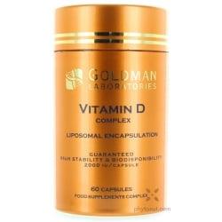 Vitamine D3 (2000 UI) & K2 liposomale - gélules