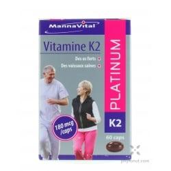 Vitamine K2 - MK7 - gélules