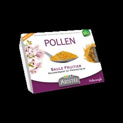 Pollen frais de saule fruitier