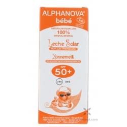 Crème solaire bio 50+ bébé