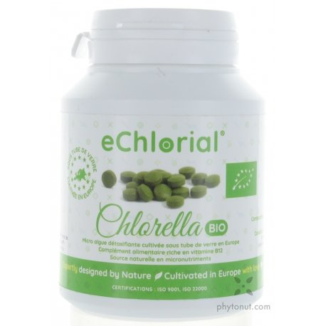 Chlorella Echlorial - 185 comprimés