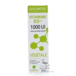 Vitamine D3 végétale 1000 UI