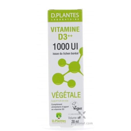 Vitamine D3 végétale