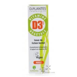 Vitamine D3 végétale 400 UI