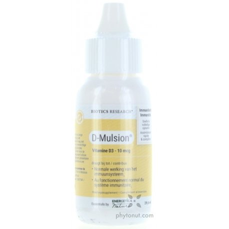 Vitamine D3 émulsion