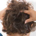 Des poux dans les cheveux